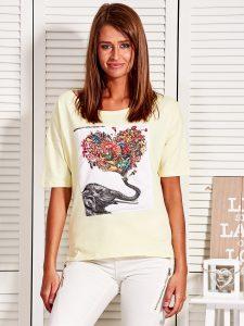 tanie koszulki damskie