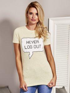 koszulki bawełniane damskie