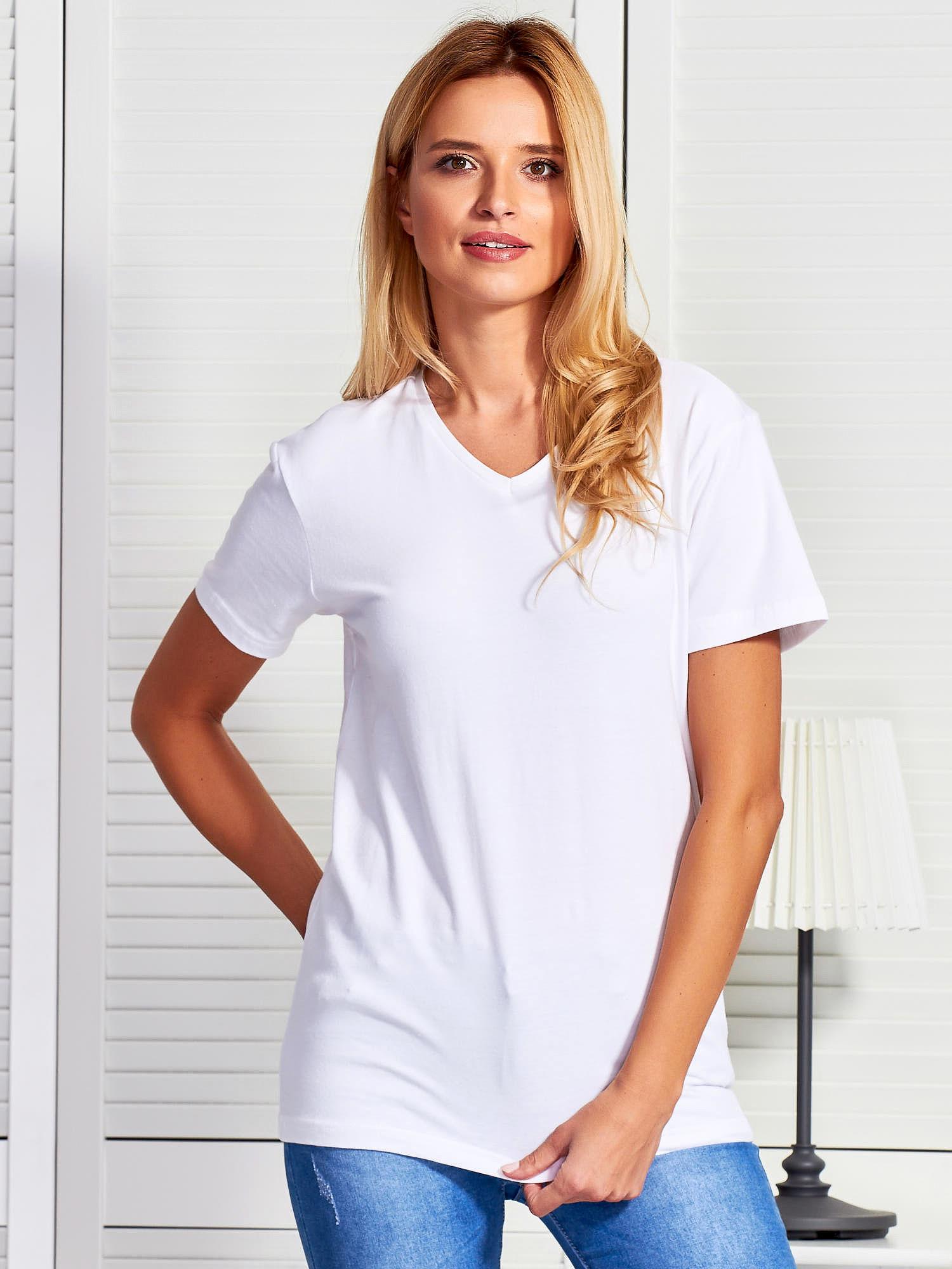 białe koszulki damskie