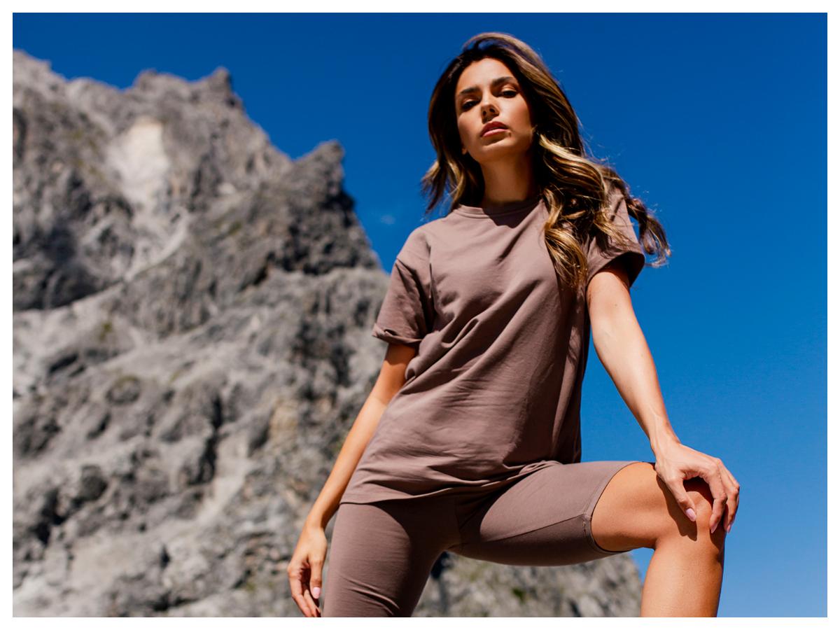 Basicowe t-shirty oversize z krótkim rękawem